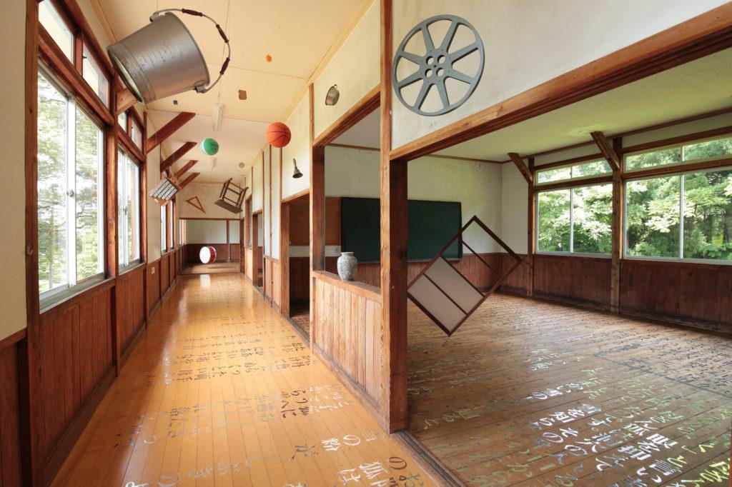"Installation Image of ""Classroom"" by Nana Hirose & Kazuma Nagatani 広瀬菜々 永谷一馬."