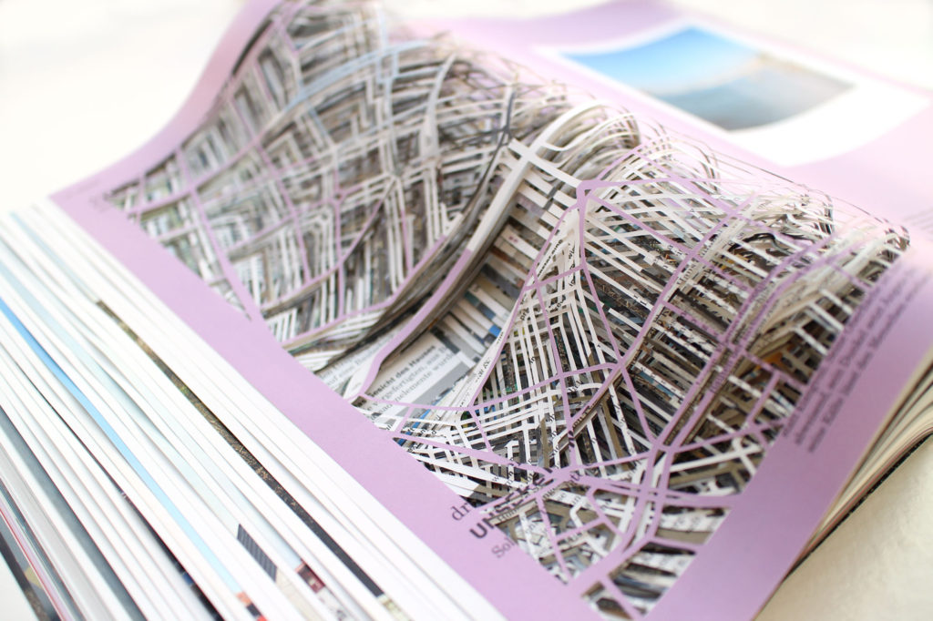 "Detailed image of ""Draw a city"" by Nana Hirose & Kazuma Nagatani."